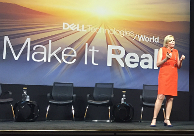 Joyce Mullen at Dell Technologies World 2018