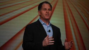Michael Dell at Dell Technologies World 2018