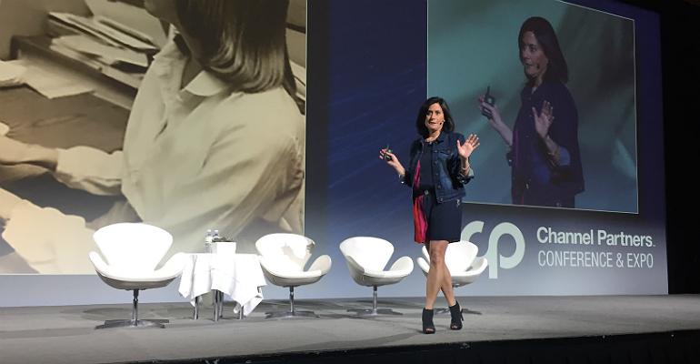 Microsoft's Gavriella Schuster at Channel Partners 2018
