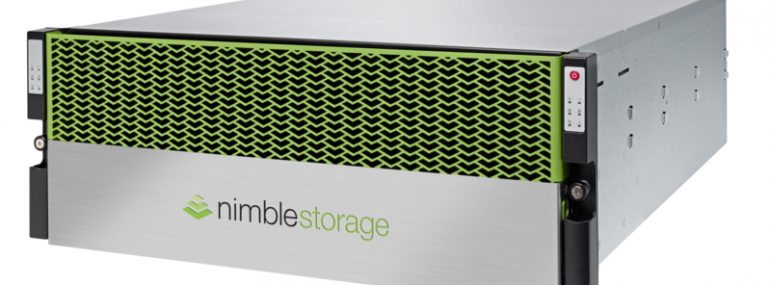 Nimble Storage flash array