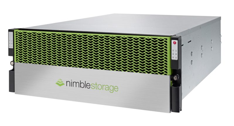 Nimble Storage flash array
