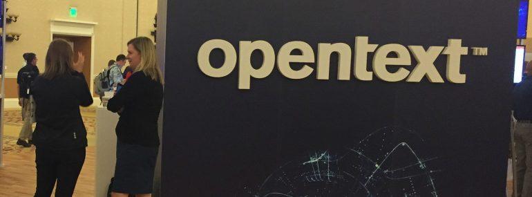 OpenText Enfuse 2018