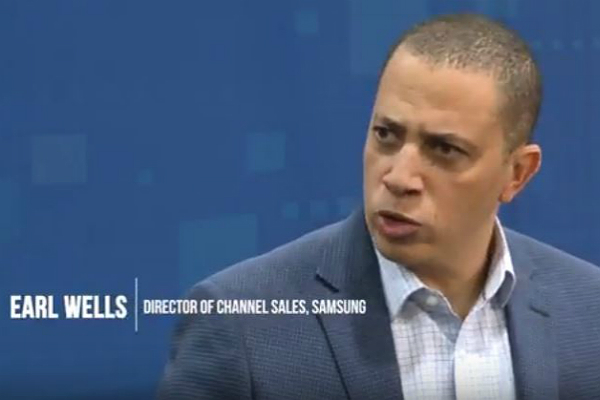 Samsung's Earl Wells at CP Expo 2018