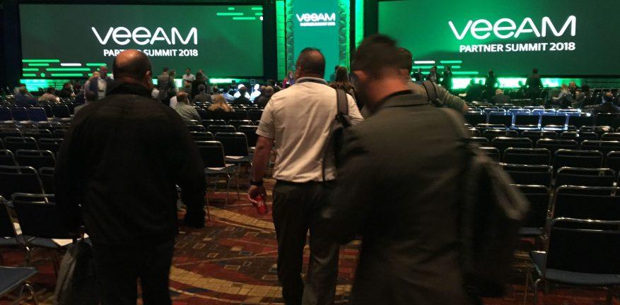 Veeam Partner Summit 2018 Keynote Room