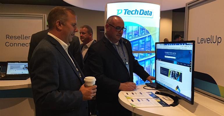 Tech Data's Mark McClure at Tech Data Channel Link