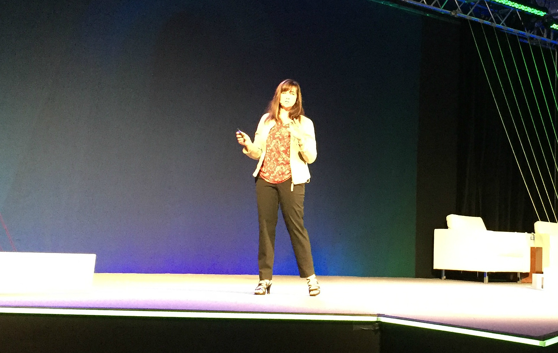 Tech Data's Andrea Miner at Channel Link 2018