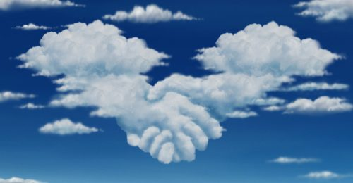 Cloud handshake