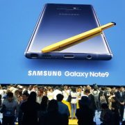 Samsung's Galaxy Note9 Launch Event in NYC, Aug. 9, 2018