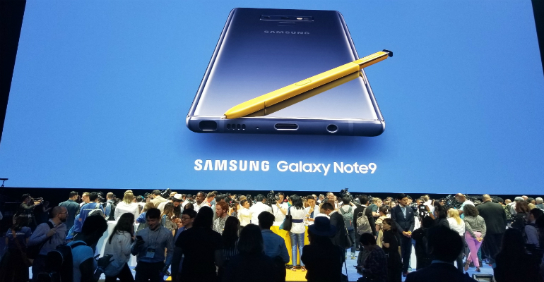 Samsung Raises the Smartphone's High End with Note9
