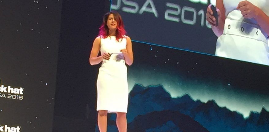 Google's Parisa Tabriz at Black Hat 2018