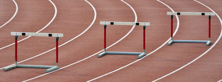 Three hurdles