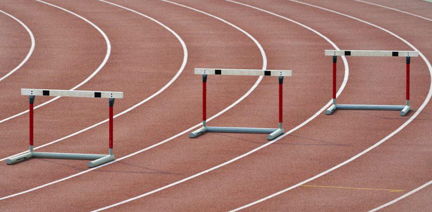 Three hurdles
