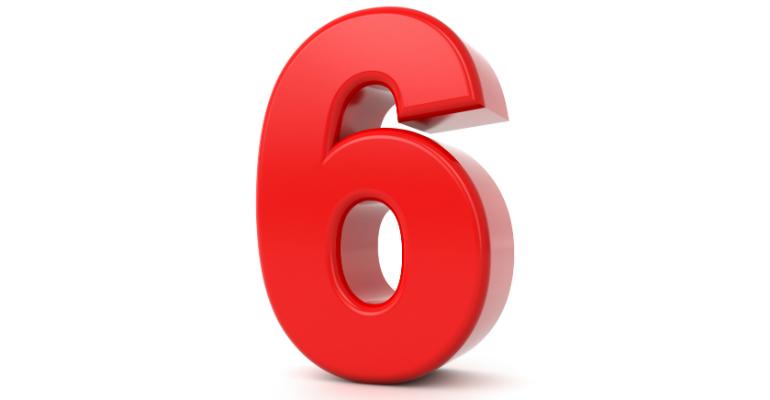 6, six