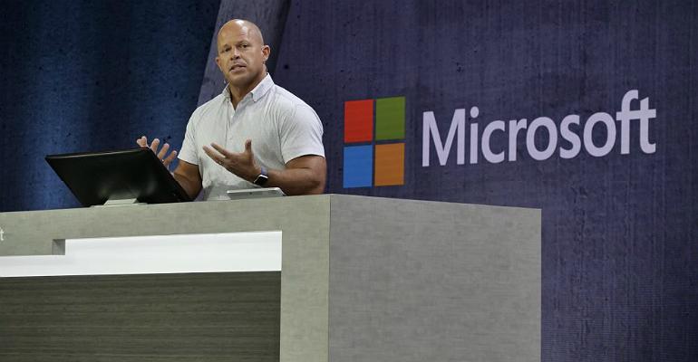 Microsoft's Brad Anderson at Ignite 2018