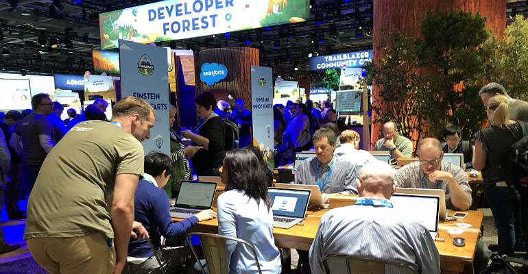 Salesforce Dreamforce 2018 inside