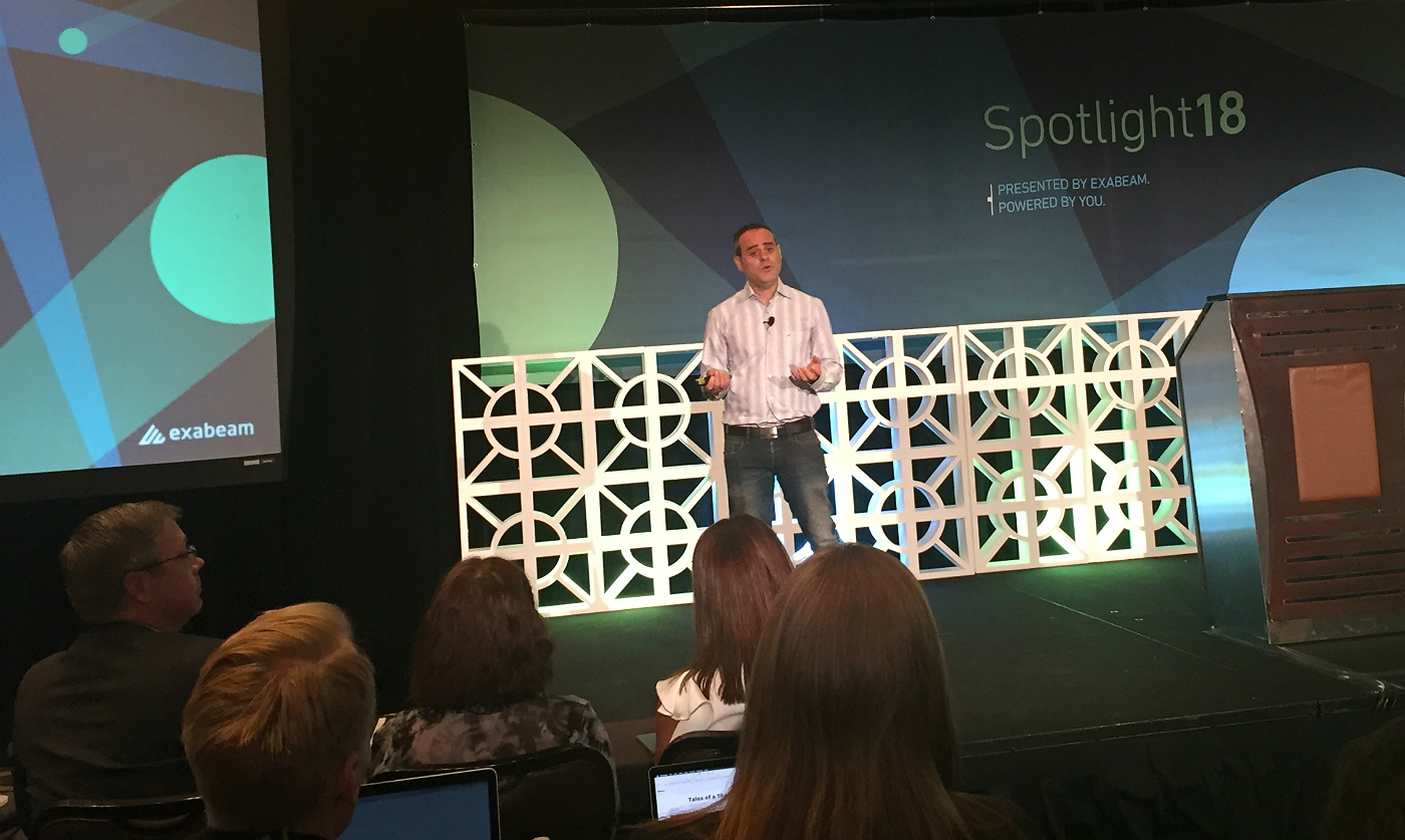 Exabeam Nir Polak at Spotlight 2018