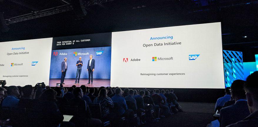 Open Data Initiative at Microsoft Ignite 2018