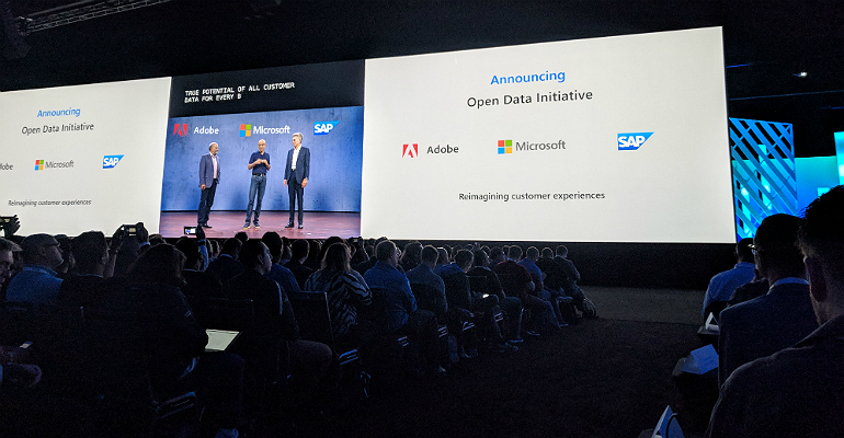 Open Data Initiative at Microsoft Ignite 2018