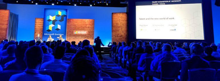 Talent Panel at Microsoft Ignite 2018