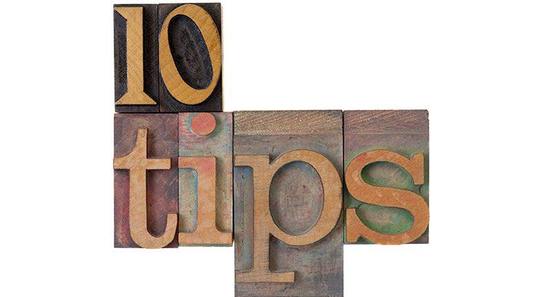 10 tips blocks
