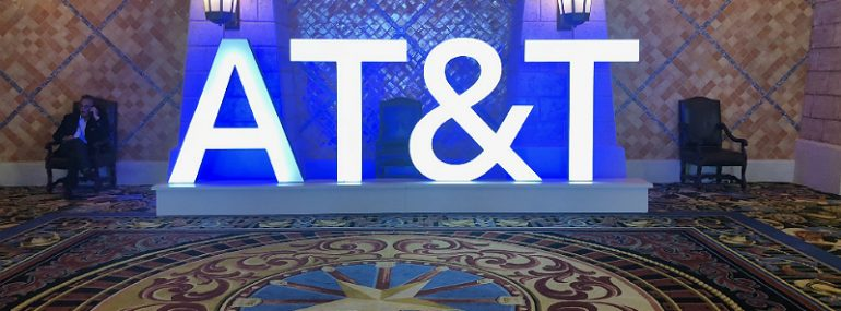 AT&T Sign at Business Summit 2018