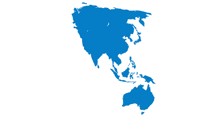 Asia Pacific Map