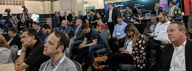 Channel Partners Evolution 2018 Expo Hall Gallery