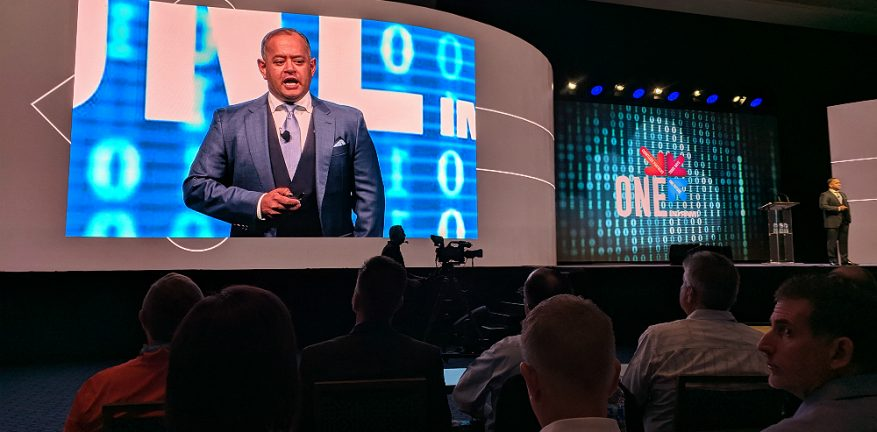 Ingram Micro's Nimesh Dave at One 2018