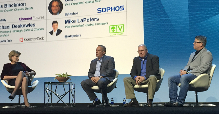 MSSP Panel at Channel Partners Evolution 2018