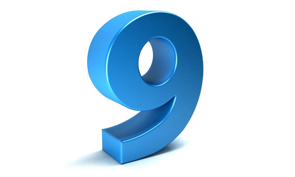 Nine, 9