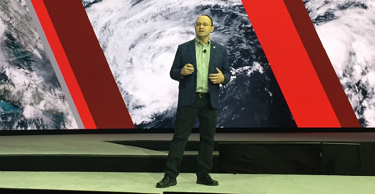 McAfee's Steve Grobman at MPower 2018 in Las Vegas.