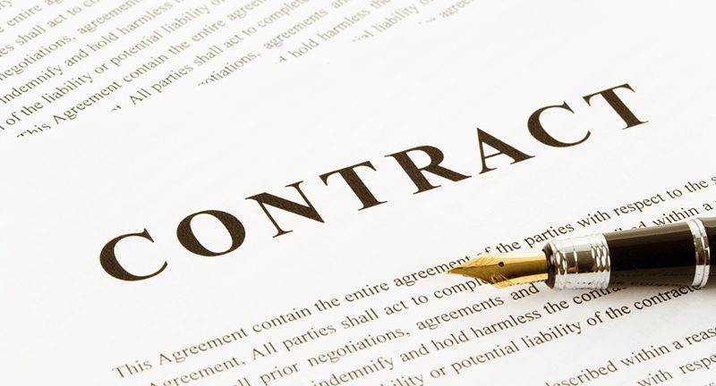 Provider and supplier contracts