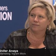 Ingram Micro's Jennifer Anaya at CP Evolution