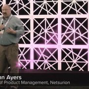 Netsurion's John Ayers at CP Evolution 2018