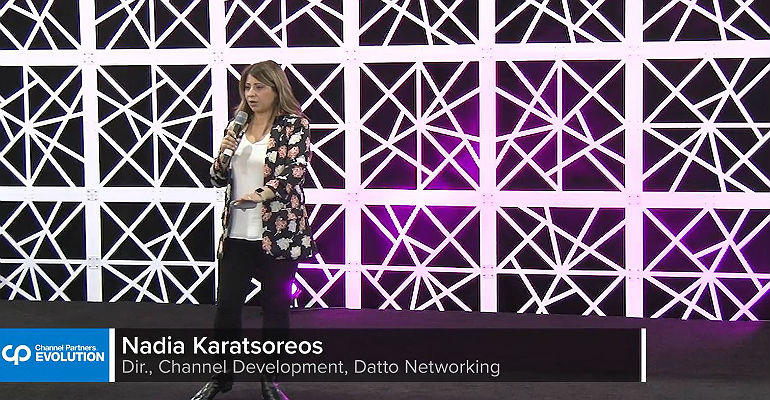 Datto in Channel Futures Theater at CP Evolution 2018