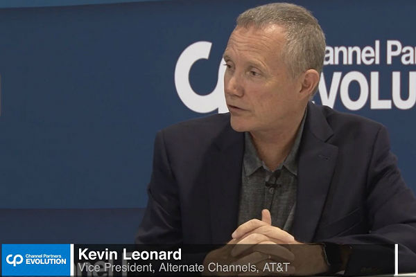AT&T's Kevin Leonard Channel Partners Evolution 2018