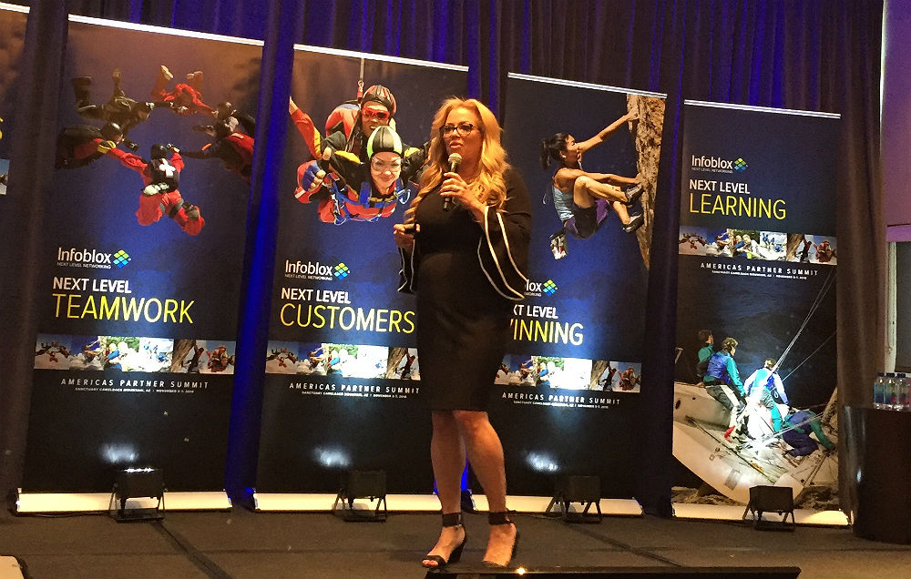 Lori Cornmesser Infoblox Partner Summit 2018