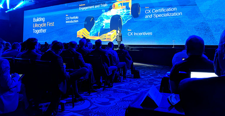 Cisco's Maria Martinez at Partner Summit 2018