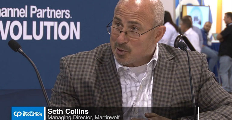 Seth Collins of Martin Wolf at CP Evolution 2018