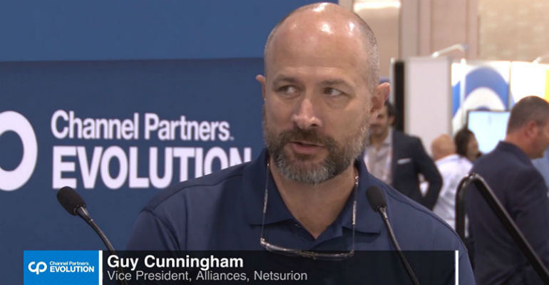 Netsurion's Guy Cunningham at CP Evolution 2018