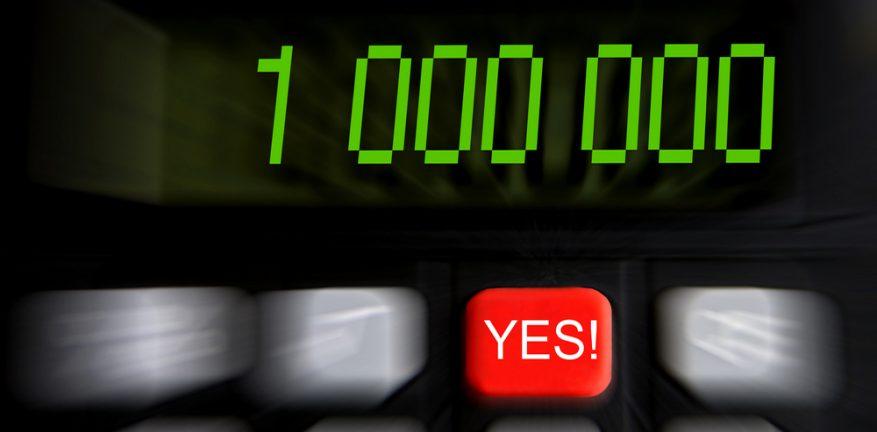 One Million on Calculator