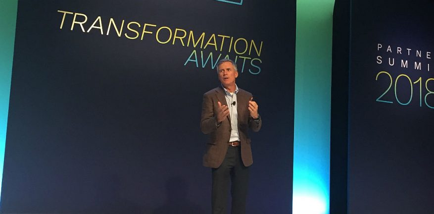 Rich Hume at Tech Data Partner Summit 2018