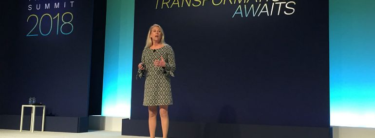 Stacy Nethercoat Tech Data Partner Summit 2018