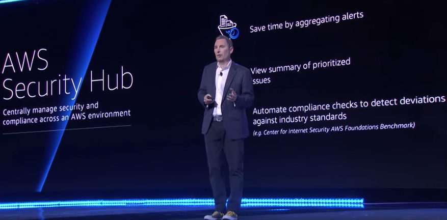 AWS Security Hub Jassy Reinvent 2018