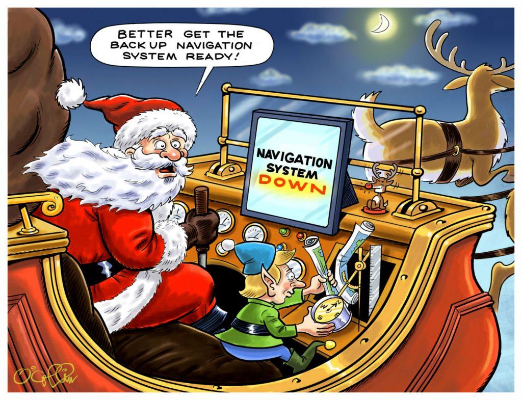 Sungard AS Cartoon December 2018