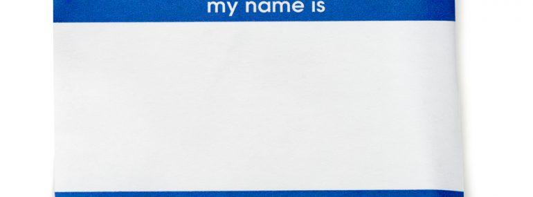 Nametag