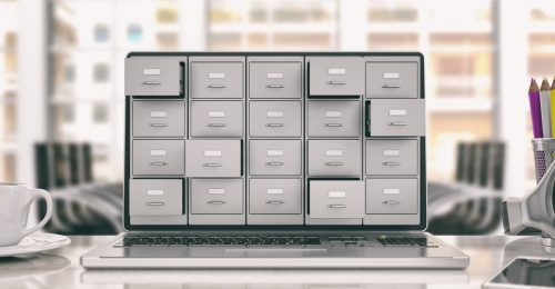 Digital records storage