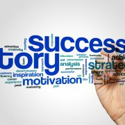 Success story word salad