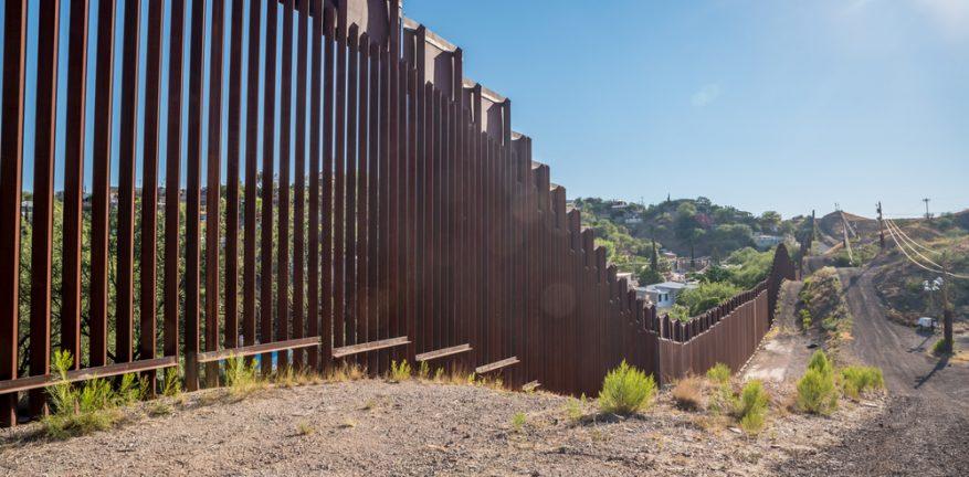 US Border Fence Arizona