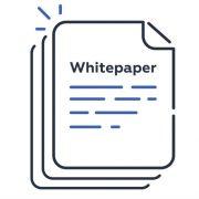Animated whitepaper icon